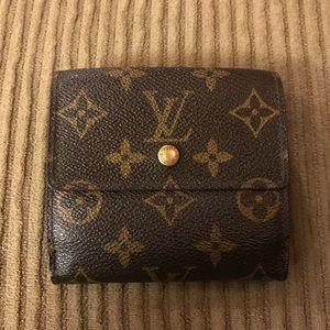 Louis Vuitton Monogram Elise Wallet Unisex